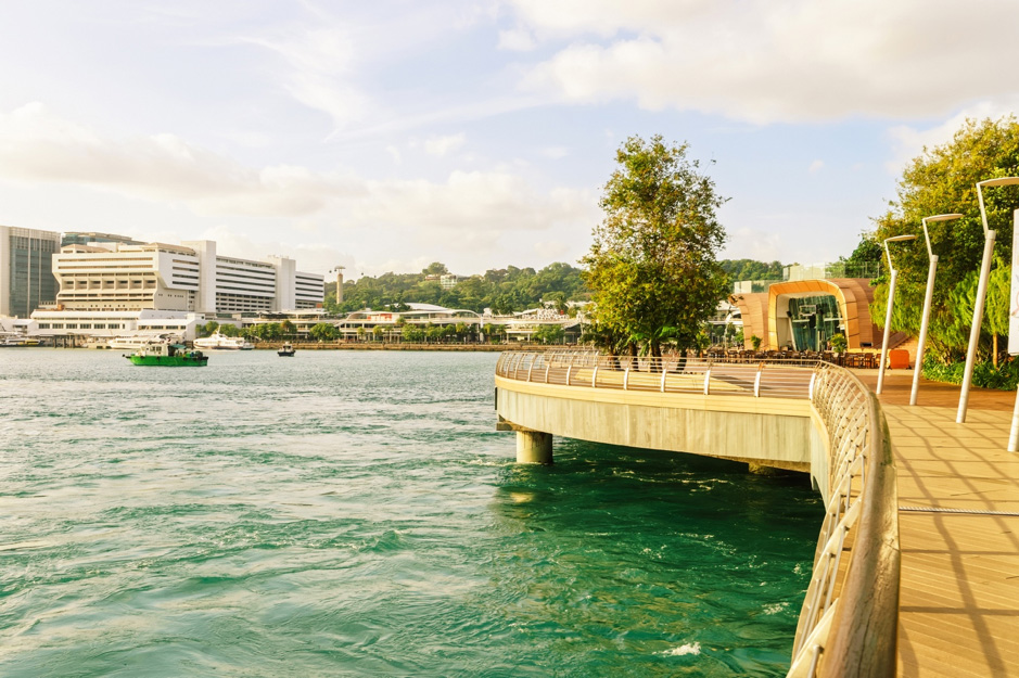 Sentosa Board Walk Tidal In-Stream Energy